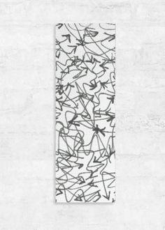 VIDA Leather Accent Tag - Scribble Arrows by VIDA OGGoUpYk