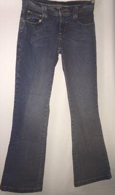 7.92$  Buy here - http://vipxb.justgood.pw/vig/item.php?t=cvbunzk58401 - Bongo Jeans - Juniors Sz 7 Style 058 Blue Stretch Denim Flare Lb7 Body Hug Fit 7.92$