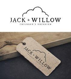 Create a modern stylish cloud logo for Jack