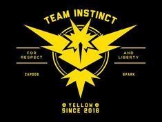 Go Team Instinct! T-Shirt - Pokémon Go T-Shirt is $15 at TeeFury!