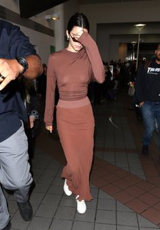 Kendall Jenner — June 8 - Kendall leaving LAX Airport in Los...