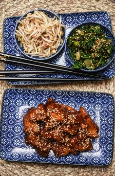 Asian Recipes, Healthy Recipes, Ethnic Recipes, Some Recipe, Sugar And Spice, Korean Food, Food Inspiration, Good Food, Food Porn