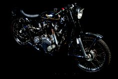 V Twin Royal Enfield Bulldog ~ Return of the Cafe Racers