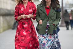 The Best Street Style From Paris Fashion Week  - ELLE.com