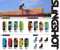 La gamme Slingshot Wake 2015 est en ligne et au shop ! http://basenautique.glissevolution.com/slingshot-wake-2015/
