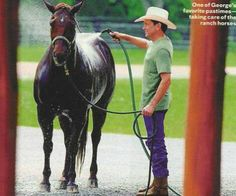 George Strait - HE TREATS HIS ANIMALS FANTASTIC...HE'S A REAL MAN!