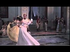 """Elegance, anxiety and love in Natasha' first waltz at the Moscow ball with her adoring prince Andre."""" she (Audrey Hepburn) asks. Audrey Hepburn, Tango, Dmitri Shostakovich, Dance 4, English Movies, My Fair Lady, Kinds Of Music, Classic Movies, Great Movies"""