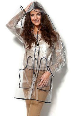 regnkappa transparent pvc raincoat