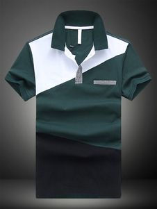 Fashionable Cotton Short Sleeves Mens Polo Shirt Dresses, Costumes, Jewelry & More. Save on the Hottest Fashion Today! New Styles Added Daily. Polo T Shirt Design, Polo Design, Polo Shirt Outfits, Polo T Shirts, Camisa Polo, Long Sleeve Tee Shirts, Long Sleeve Polo, Polo Shirts With Pockets, Vintage Mens T Shirts