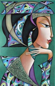 Dreaming by Wlad Safronow. (Oil Canvas)
