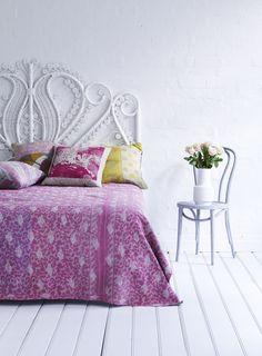 Kantha Quilt Pink Paradise