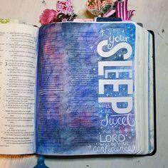 Bible Journaling by Shawna Clingerman @shawnaclingerman