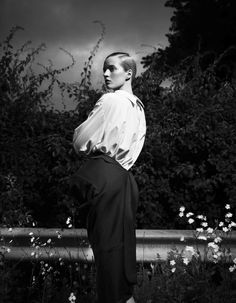 Daria Strokous by Willy Vanderperre for Another Magazine 'Portraits by Willy' Editorial - Fall/Winter 2012