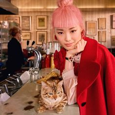 Cool girl Fernanda Ly stars with her feline friends in the @katespadeny AW17 campaign. Swipe left to see more! @warukatta #fernandaly #katespadeny #katespademy #katespade #ellemalaysia  via ELLE MALAYSIA MAGAZINE OFFICIAL INSTAGRAM - Fashion Campaigns  Haute Couture  Advertising  Editorial Photography  Magazine Cover Designs  Supermodels  Runway Models