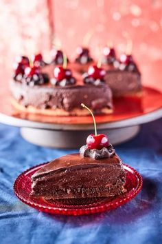 Cherry Desserts, Cake Cookies, Hamburger, Panna Cotta, Nom Nom, Cake Recipes, Food And Drink, Sweets, Healthy Recipes