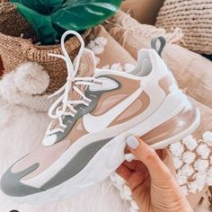Nike Shoes OFF! ►► Blush and muted sneakers Moda Sneakers, Cute Sneakers, Sneakers Mode, Girls Sneakers, Sneakers Fashion, Sneakers Adidas, Nike Shoes For Girls, Cool Womens Sneakers, Pink Sneakers