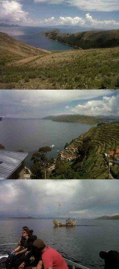 Tierra de misterio y belleza única, Lago Titicaca lado boliviano #Copacabana  http://www.placeok.com/la-isla-del-sol-en-copacabana-aventura-y-misticismo/