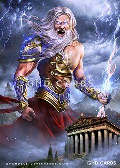 Zeus, King of Gods by Whendell on DeviantArt