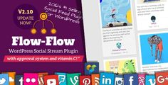 Free DownloadFlow-Flow WordPress Plugin v.2.10.15– CodeCanyon |Flow-Flow v2.10.15 – Social Streams for WordPress(Updated on 24th January 2017) is fully premium WordPress Social plugin to smoothly display your own social hub into a very beautiful responsive grid having detailed filters and live   #CodeCanyon