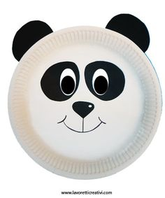 Maschere Carnevale con piatti di carta – Panda Paper Plate Masks, Paper Plate Crafts, Paper Plates, Toddler Crafts, Crafts For Kids, Arts And Crafts, Panda Craft, Zoo Crafts, Mickey Mouse Pumpkin