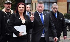 Two leaders of Britain First were found guilty of religiously aggravated harassment. They gained notoriety when President Trump shared their videos.