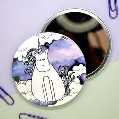 We've been pressing mirrors here at Awesome Merchandise for a long time now, but they're still up there as one of our favourite products! We :purple_heart: these unicorn designs from Unicorn Graphic, Magpie, Mirrors, Brother, Neon, Graphic Design, Purple, Heart, Awesome