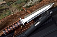 CFK USA Custom Handmade D2 Vietnam Urban Saigon Scout Camp Fighter Dagger Knife | eBay