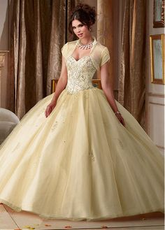 Amazing Tulle Sweetheart Neckline Ball Gown Quinceanera Dress With Detached Jacket