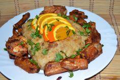 GIRA DA MULHER: Migas com Carne de Porco à Alentejana