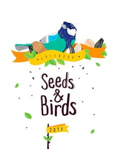 Seeds and Birds Calendar Template By Luz Viera (Suriblossom) on Pagephilia Birds, Templates, Illustration, Projects, Fictional Characters, Illustrations, Log Projects, Stencils, Bird