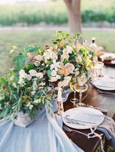 This organic vineyard inspired wedding is oh-so gorgeous.