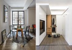 The Five to One Apartment: Containing the functional and spatial elements within a compact 390 Sf - iCreatived