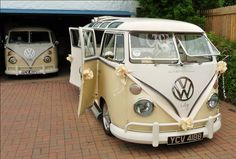 VW Camper - Transport double the pleasure