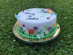 Confirmation/Flower Cake 🌼🌸🌻   June 2017 Confirmation, June, Cakes, Baking, Flower, Desserts, Food, Pies, Bread Making
