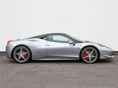 Used 2012 (61 reg) Silver Ferrari 458 Italia 2dr Auto for sale on RAC Cars