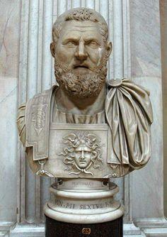 Emperor Pertinax II th century AD. Vatican museum  More At FOSTERGINGER @ Pinterest