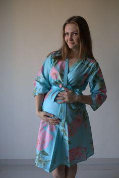 Light blue hospital gown