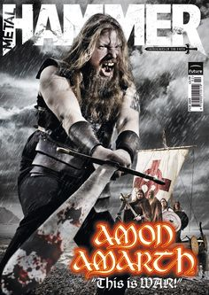 Metal Hammer Amon Amarth by JamesHammer.deviantart.com on @deviantART