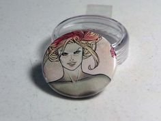 """Comic Book 1.5"""" Button// Poison Ivy, $1.00"""