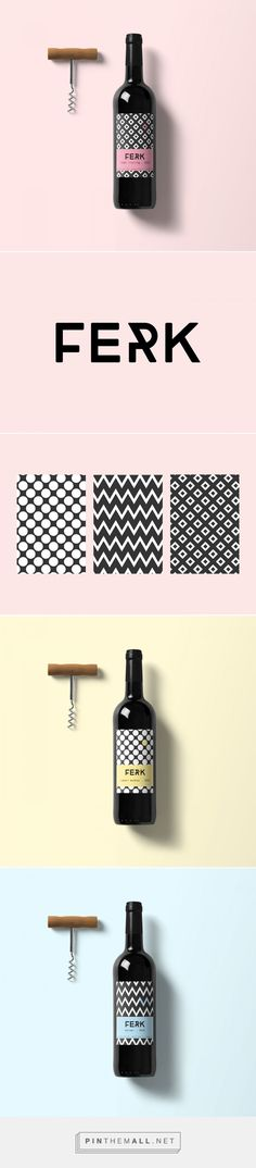 Ferk Wine Packaging by Claudia Kvar | Fivestar Branding Agency – Design and Branding Agency & Curated Inspiration Gallery
