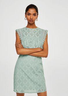 13cb7d2f31c Openwork cotton dress - Women