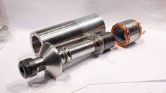 CNC Milling Spindle @ DIESELRC.COM