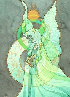 LAUDE NOVELLA (kanaya) by mementomoryo. elements of virgin mary artwork.