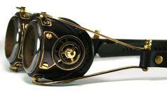 Blackened brass Goggles by AmbassadorMann.deviantart.com