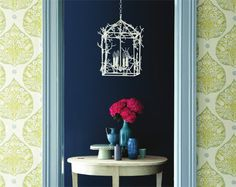 Love this pattern....aail in fabric and paper!  Galbraith & Paul Textiles, Rugs and Wallpaper