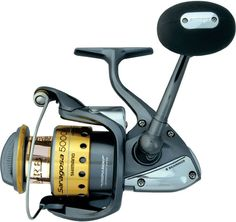 Shimano Saragosa F Spinning Reels    * Paladin Gear Durability Enhancement  * Propulsion Line Management System  * S A-RB Shielded Ball Bearings  * High Speed Retrieves  * Stopperless Design (No Anti-Reverse Switch)  * Aluminum Frame  * Graphite Rotor (Aluminum on14000 & 18000 sizes)  * Power Roller III Line Roller  * S-Arm Cam  * One-Piece Bail Wire  * Aerowave Oscillation (3000-8000 sizes only)  * Aero Wrap Oscillation (14000 & 18000 sizes only)  * Super Stopper II Anti-Reverse