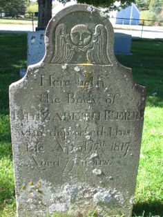 Here Lieth the Body of ELIZABETH KERR who departed this life April 17th 1817 Aged 77 Years
