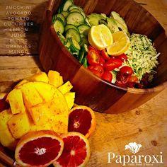Awesome dinner #vitaminfood #rawvegan #paparoxi