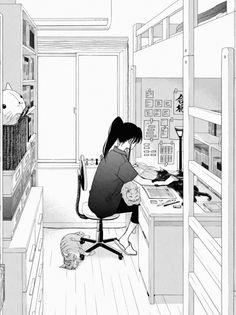 Manhwa, Sky Anime, Cafe Black, Free Manga Online, Cute Little Drawings, Blue Flag, Comic Drawing, Manga Artist, Anime Poses