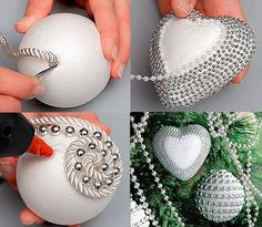 пенопластовый шар декор - Поиск в Google